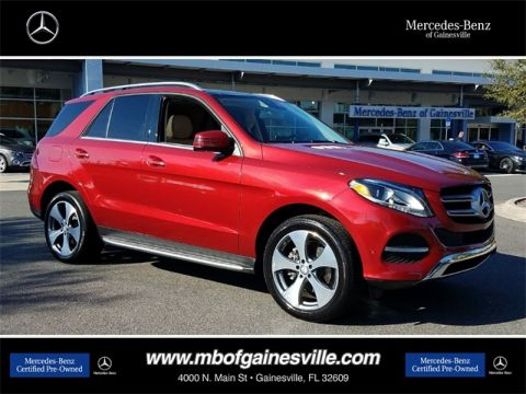Certified Pre-Owned 2016 Mercedes-Benz GLE 350 RWD SUV