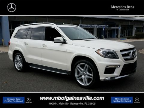 Certified Pre-Owned 2015 Mercedes-Benz GL 550 4MATIC® SUV