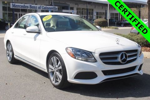 Certified Pre-Owned 2015 Mercedes-Benz C 300 RWD SEDAN