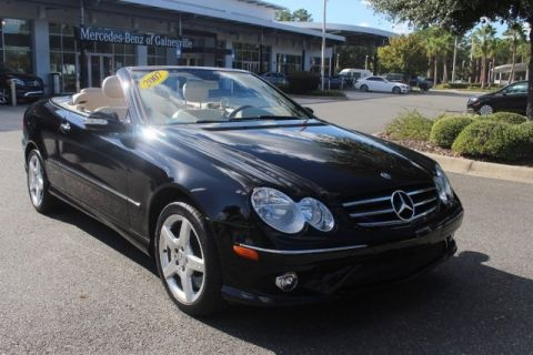 Pre-Owned 2007 Mercedes-Benz CLK 550 RWD CABRIOLET