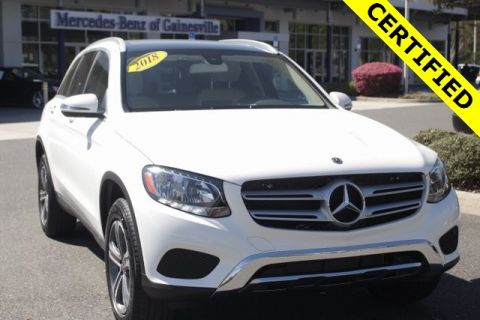Certified Pre-Owned 2018 Mercedes-Benz GLC 300 RWD SUV