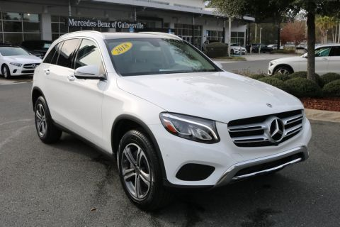 Certified Pre-Owned 2018 Mercedes-Benz GLC 300 RWD 4D Sport Utility