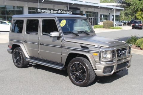 Certified Pre-Owned 2017 Mercedes-Benz G-Class AMG® G 63 SUV 4MATIC® SUV