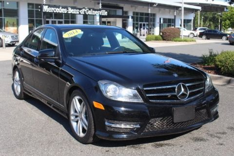 Certified Pre-Owned 2014 Mercedes-Benz C 250 RWD 4D Sedan