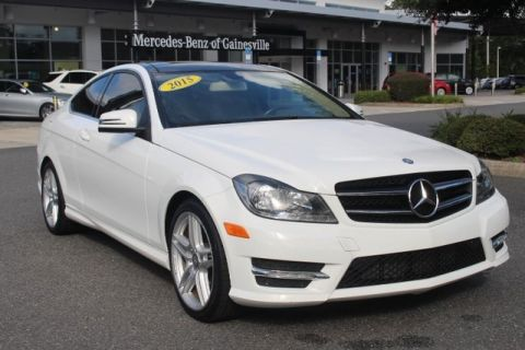 Certified Pre-Owned 2015 Mercedes-Benz C 250 RWD COUPE