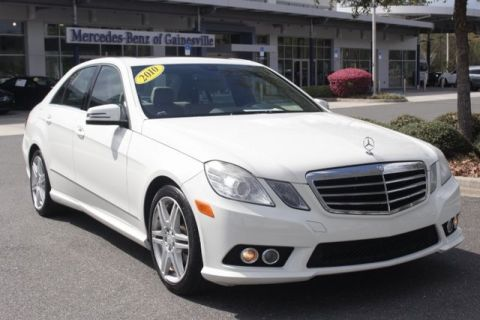Pre-Owned 2010 Mercedes-Benz E 350 RWD SEDAN