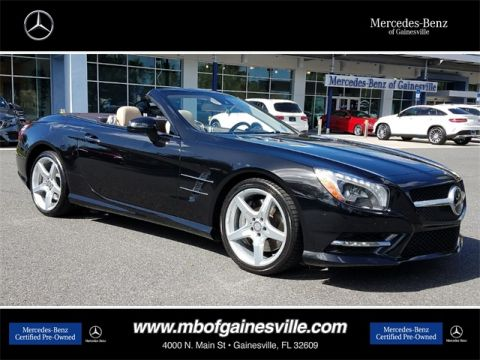 Certified Pre-Owned 2015 Mercedes-Benz SL 550 RWD COUP/RDST