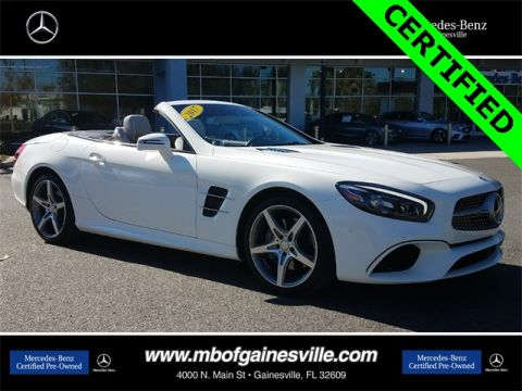 Certified Pre-Owned 2017 Mercedes-Benz SL 550 RWD ROADSTER