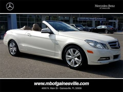 Pre-Owned 2012 Mercedes-Benz E 350 RWD CABRIOLET