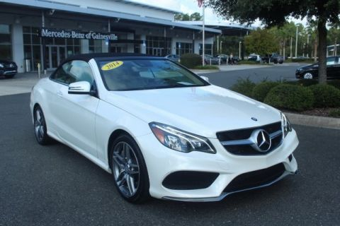Certified Pre-Owned 2014 Mercedes-Benz E 550 Sport RWD CABRIOLET