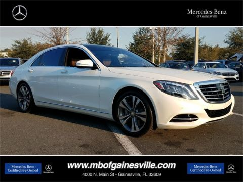 Certified Pre-Owned 2016 Mercedes-Benz S 550 RWD SEDAN