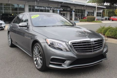 Pre-Owned 2017 Mercedes-Benz S 550 Sport RWD SEDAN