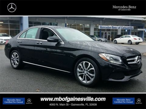 Certified Pre-Owned 2017 Mercedes-Benz C 300 RWD SEDAN