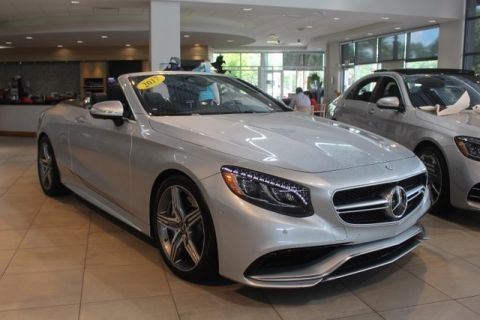 Pre-Owned 2017 Mercedes-Benz S-Class AMG® S 63 Cabriolet 4MATIC® CABRIOLET