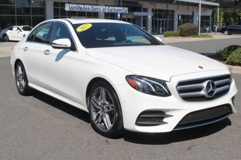 Certified Pre-Owned 2017 Mercedes-Benz E 300 RWD SEDAN