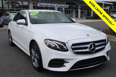 Certified Pre-Owned 2018 Mercedes-Benz E 300 RWD 4D Sedan