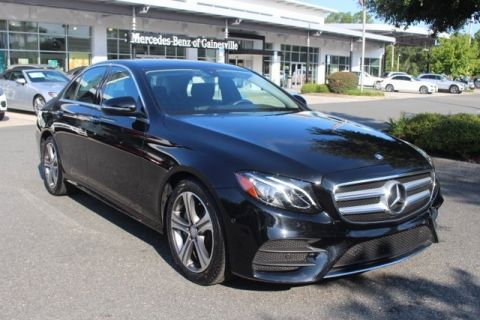 Certified Pre-Owned 2017 Mercedes-Benz E 300 Sport RWD SEDAN