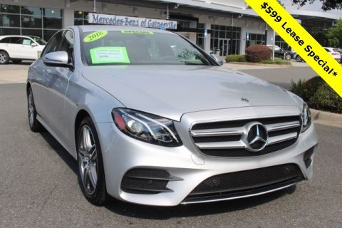 Certified Pre-Owned 2018 Mercedes-Benz E 300 RWD SEDAN