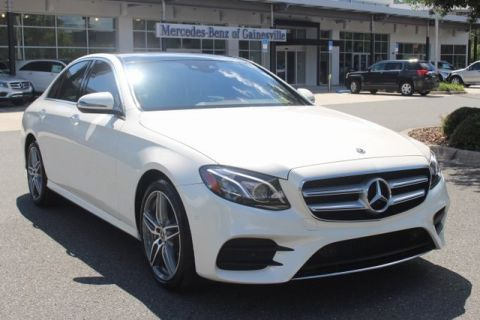 Certified Pre-Owned 2018 Mercedes-Benz E 400 4MATIC® SEDAN