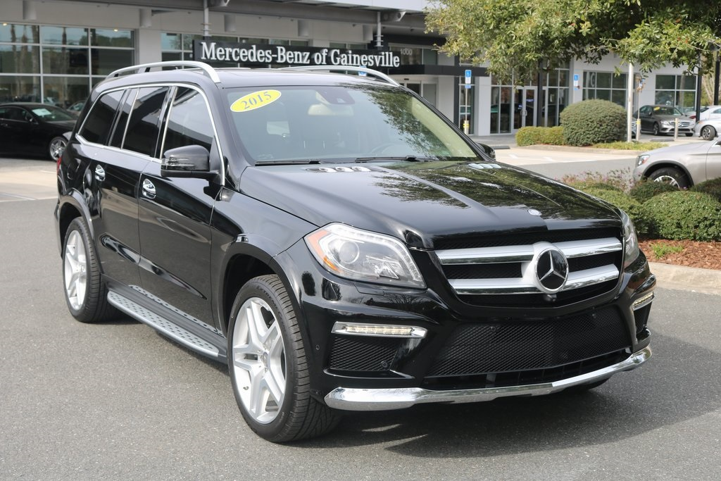 Certified Pre-Owned 2015 Mercedes-Benz GL-Class GL 550