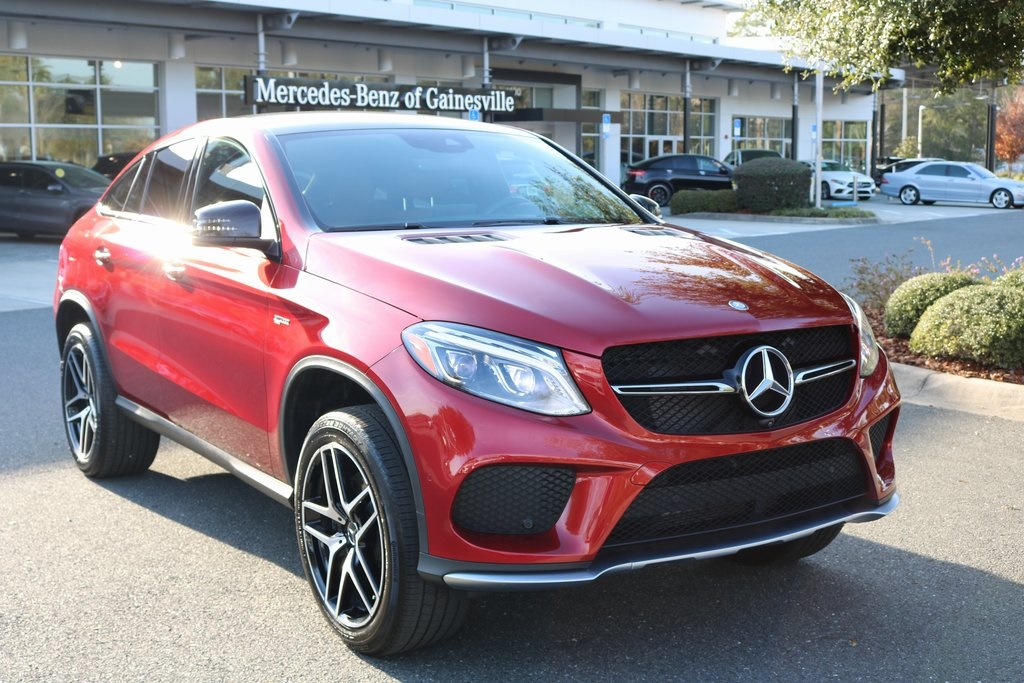 Certified Pre Owned 2017 Mercedes Benz Gle 43 Amg Coupe