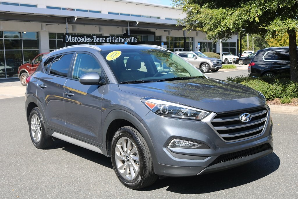 Mercedes Benz Tucson >> Pre Owned 2018 Hyundai Tucson Sel Fwd 4d Sport Utility