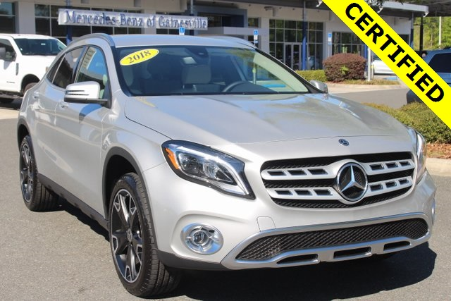 Mercedes Pre Owned >> Certified Pre Owned 2018 Mercedes Benz Gla Gla 250 Suv In