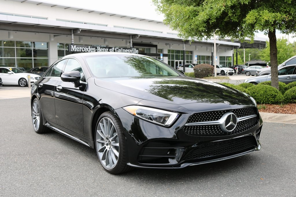 New 2019 Mercedes Benz Coupe Cls 450 With Navigation