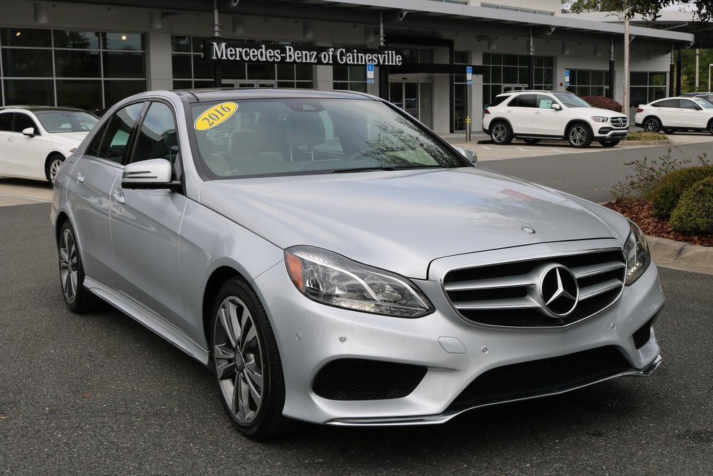 Certified Pre Owned 2016 Mercedes Benz E Cl 350